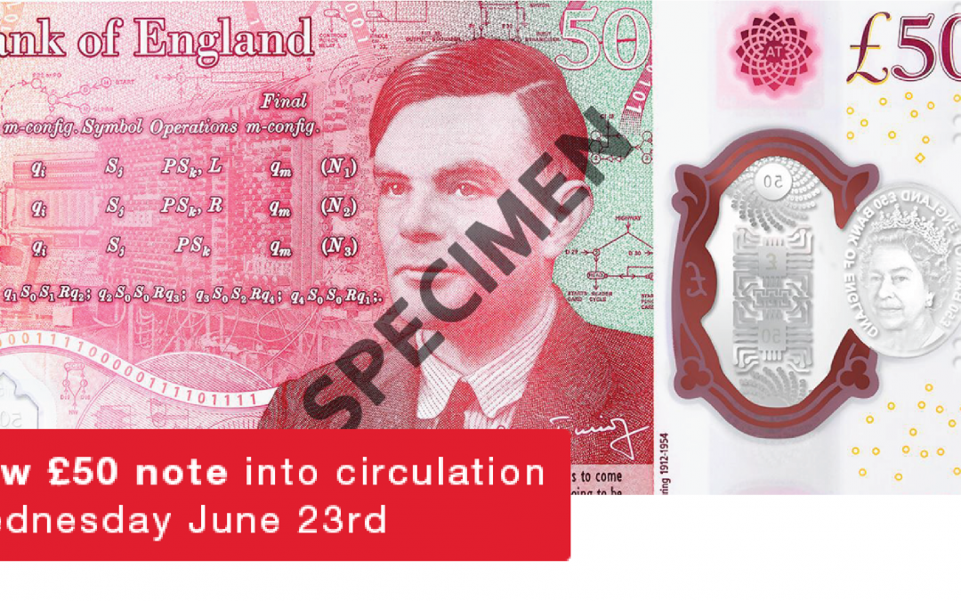 New £50 note comes into circulation