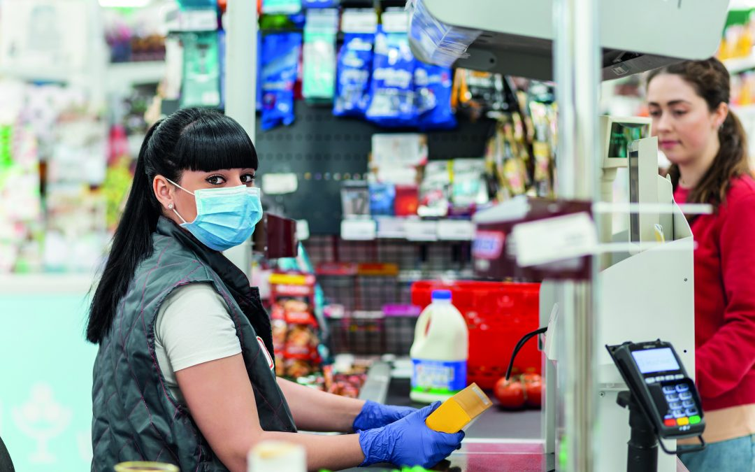 Store Workers In England Must Now Wear Face Coverings