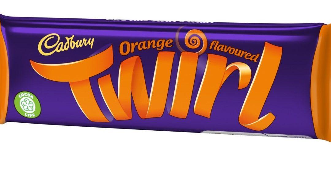 The Cadbury Twirl Orange Is Back!