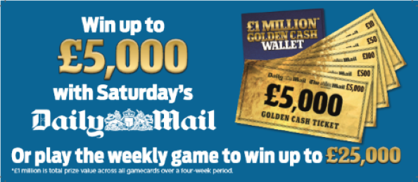 Have You Registered Yet For The Mail Golden Wallets Promotion To Win £500?