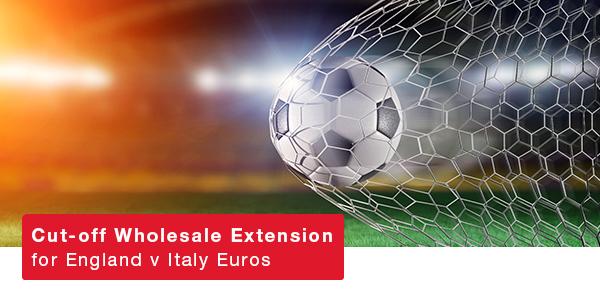 England v Italy – Sunday 11thJuly – KO 8pm