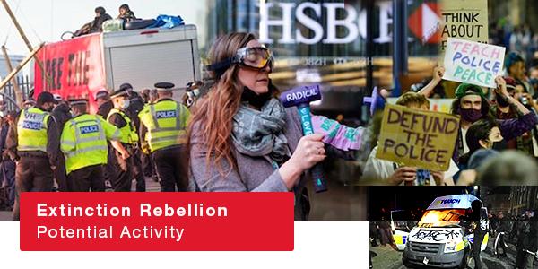 Extinction Rebellion Potential Activity