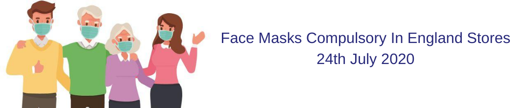Face Masks Compulsory In Shops In England