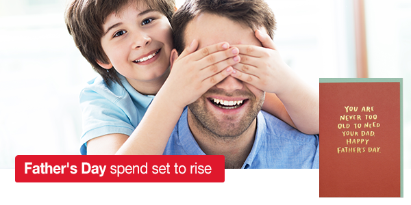 Father's Day spend set to rise