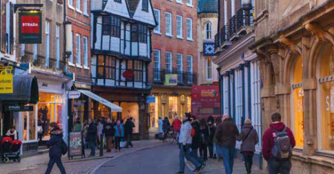£6.1 Million Funding Boost To Help High Streets And Town Centres Through Pandemic