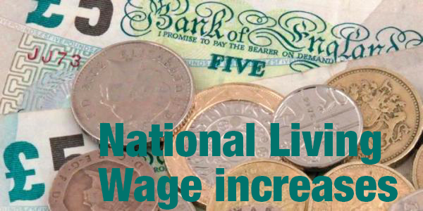 National Living Wage increases