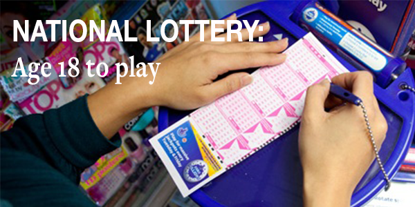 National Lottery: Age to Play changes to 18