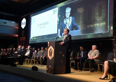 NFRN National President Stuart Reddish