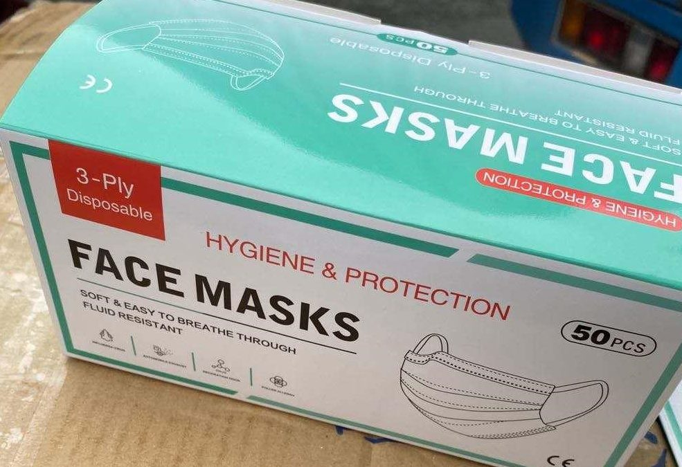 Covid-19 Protection: Face Masks Now Available Through Savewell