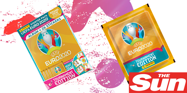 Euro 2020 stickers out now