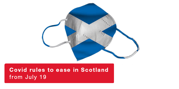 Covid rules to ease in Scotland from July 19