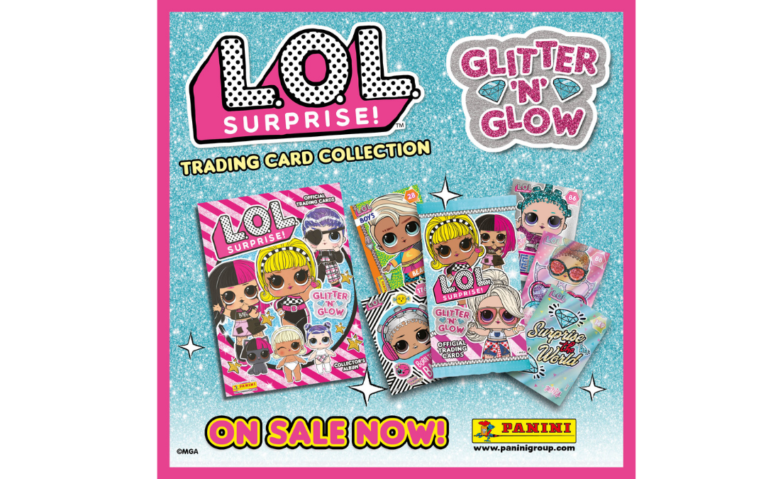 L.O.L Surprise! Glitter 'N' Glow Trading Card Collection