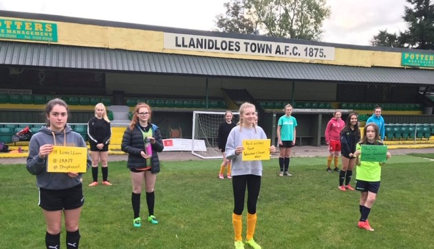 Independent Retailer Donates Refill Water Bottles To Local Football Club