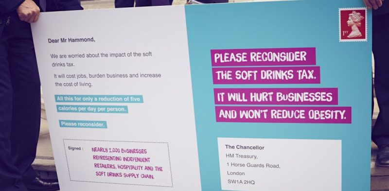 Giant canthetax poster submitted to the Chancellor